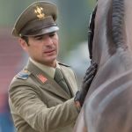 Giovanni Ugolotti & Note Worthy, first horse inspection EU-CH Luhmuhlen © Trevor Holt